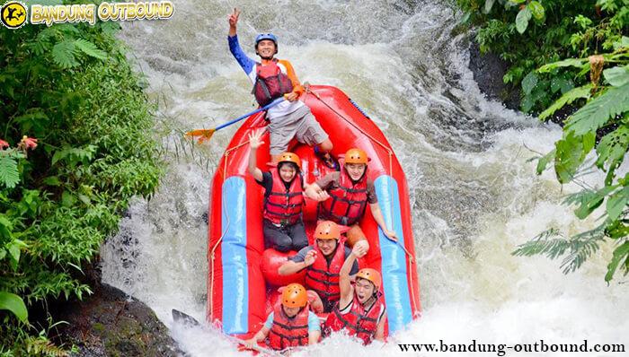 Tempat Rafting di Palayangan