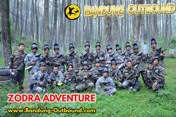 Paket Outbound Paintball Cikole Lembang 1 Hari