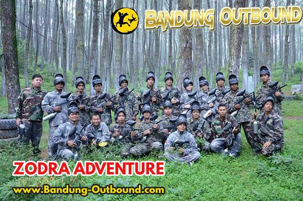 Paket Outbound Paintball Cikole Lembang 1 Hari